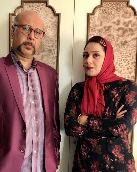 آقای چمچاره در کنار شبنم مقدمی+عکس