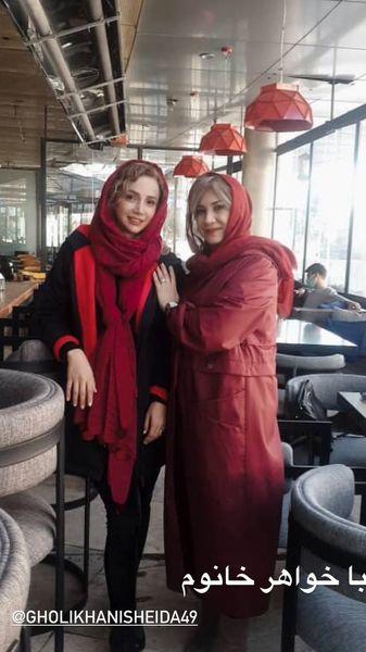 شبنم قلی خانی و خواهر بزرگش + عکس