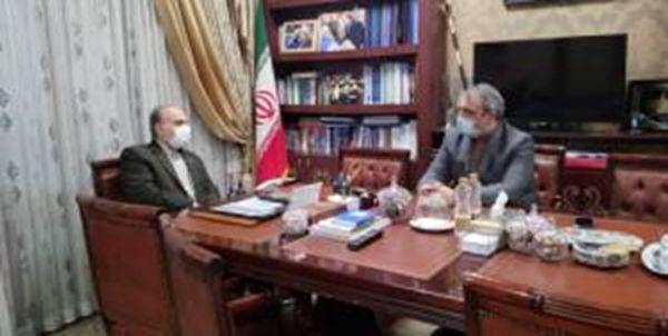 دیدار سلطانی فر با سفیر ایران در ژاپن