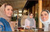 سوگل طهماسبی و دوستانش در کافه + عکس