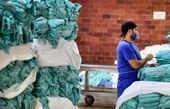 کارگرانی با کرونا در بیمارستان می جنگند+تصاویر