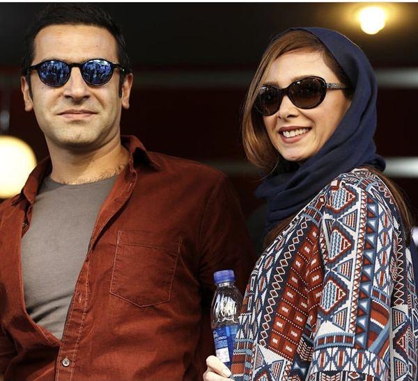 فرناز رهنما و همسرش + عکس