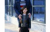 امیررضا دلاوری و دخترش در کودکی + عکس