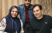 عکس جدید از مهران مدیری در پشت صحنه هیولا