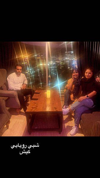 گردش های شبانه بهنوش بختیاری و دوستانش در کیش + عکس