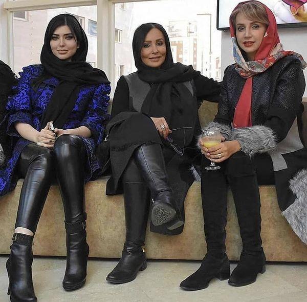 شبنم قلی خانی وپرستو صالحی در کنار هم + عکس