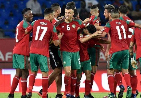 پادشاه مراکش به بازیکنان این تیم روحیه داد