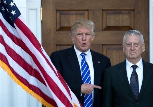 رابطه ترامپ و وزیر دفاعش شکراب شده