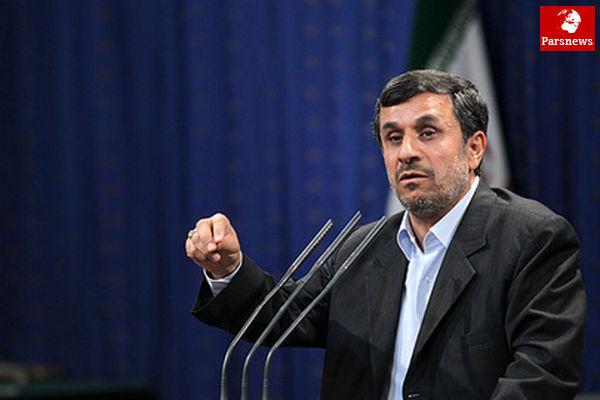 احمدینژاد: هیچوقت با غرب دعوا نداشتهایم، آنهابا مادعوا داشتند