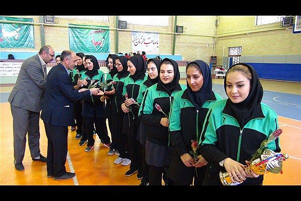 اولین حضور دانشجویان دختر دانشگاه های ایران در رقابت های بین المللی در رشته بسکتبال