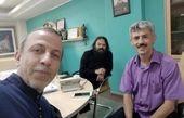 سیروس همتی و همکارانش در یک جلسه + عکس