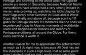 رونالدو بعد از آقای گل شدن به علی دایی چه گفت + متن پیام