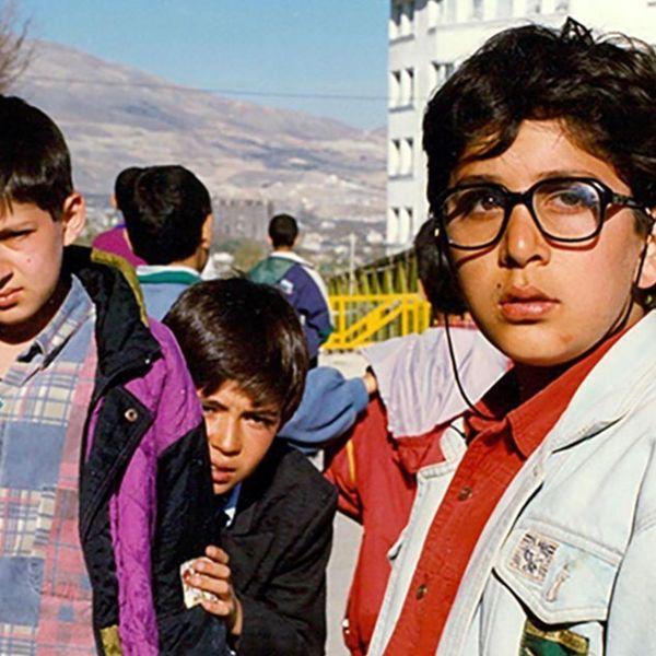 عکس کودکی بازیگر و مجری توانمند کشورمان