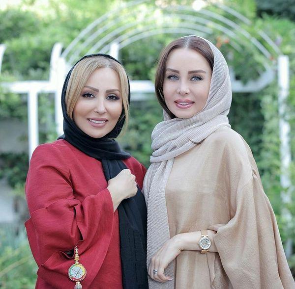 پرستو صالحی در کنار همسر بازیگر مشهور + عکس