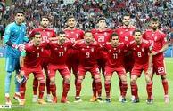 اشک بازیکنان تیمملی بعد از پایان بازی با اسپانیا