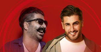 کنسرت زنده بهنام بانی و شهاب مظفری در فینال لیگ قهرمانان