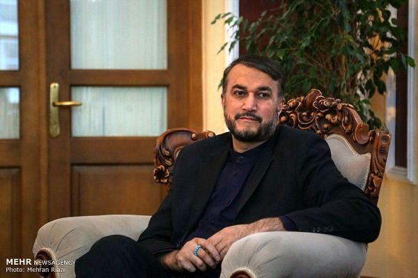 امیرعبداللهیان انتصاب دبیرکل جدید جنبش جهاد اسلامی را تبریک گفت