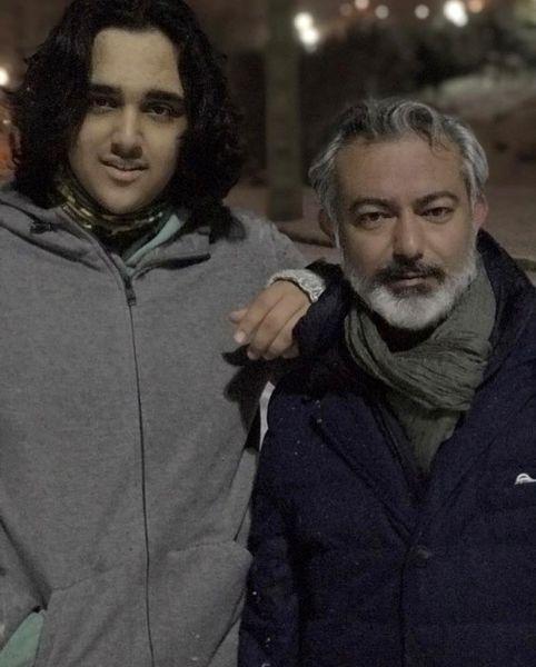 محمدرضا هدایتی و پسرش + عکس