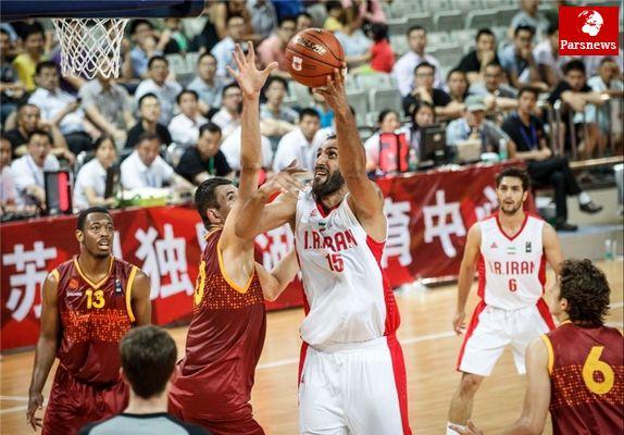 اردن هم حریف بسکتبال ایران نشد