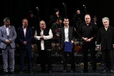 خواننده شناخته شده موسیقی آذربایجان دکترای افتخاری گرفت