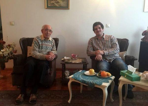 رسول خادم با استاد ابوالملوکی دیدار کرد
