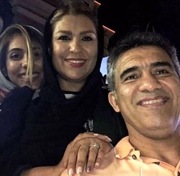 احمدرضا عابدزاده و خانواده اش + عکس