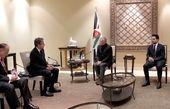 هشدار شاه اردن در دیدار با وزیر خارجه آمریکا
