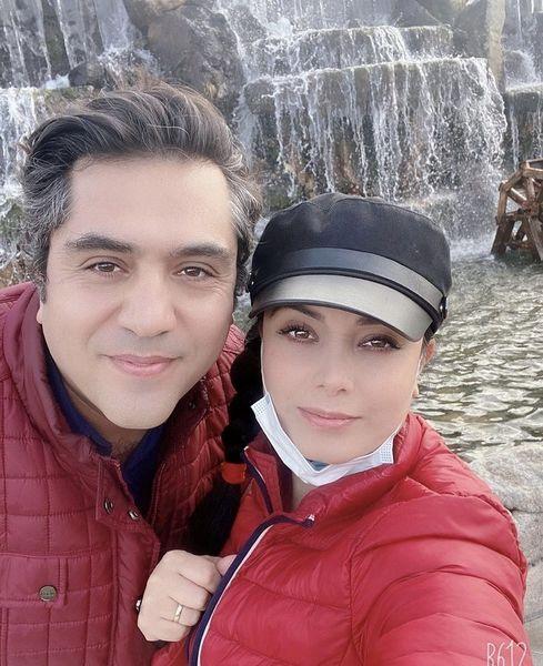 سلفی جدید مانی رهنما و صبا راد در ایران + عکس