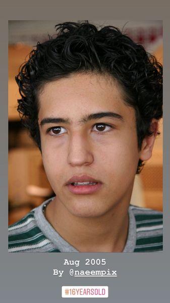 مهرداد صدیقیان در نوجوانی + عکس