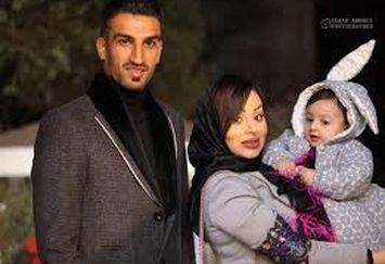 عکس پدر و دختری «حسین ماهینی» و مایسا
