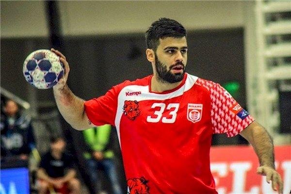سجاد استکی به عنوان بهترین بازیکن لیگ هندبال رومانی انتخاب شد