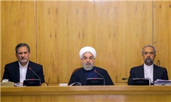 روحانی در جلسه هیات دولت:وحدت مسلمانان از ضرورتهاست