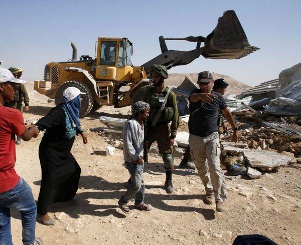 نتانیاهو: روستای خان احمر را منهدم می کنیم