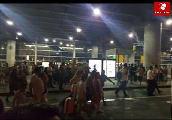 وحشت فرودگاه «فورت لودردیل» فلوریدا را فرا گرفت