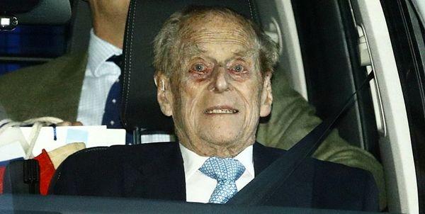 انتقال شاهزاده فیلیپ، همسر ملکه انگلیس، به بیمارستان