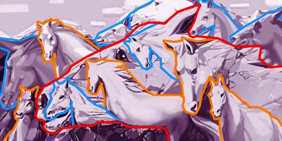 شخصیت شناسی؛ در تصویر زیر چند اسب میبینید؟