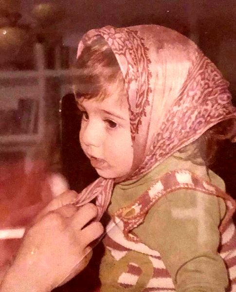 کودکی بامزه لیلی رشیدی + عکس