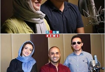 احسان کرمی میهمان رادیو گلاره عباسی شد+عکس
