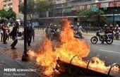 صفکشی خیابانی و خشونتآفرینی غرب علیه «مادورو»