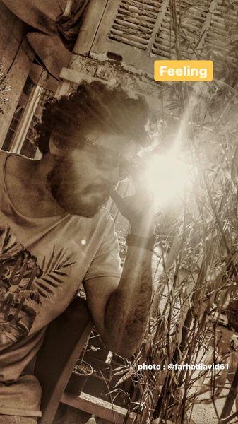 صورت آفتاب خورده مهران رنجبر + عکس