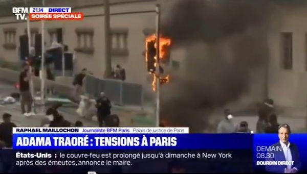 موج معترضین به بیعدالتی به فرانسه رسید