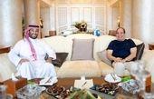 دیدار «محمد بن سلمان» با السیسی
