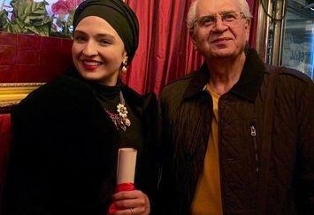 پایان سفر گلاره عباسی در  استکهلم+عکس