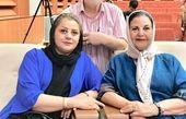 پوری بنایی در کنار آقای بازیگر پیشکسوت و همسرش+عکس