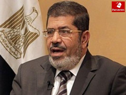مرسی خواهان تحقق آشتی ملی فلسطین