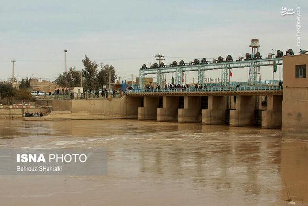عکس/ شادی مردم از پُر آب شدن هیرمند