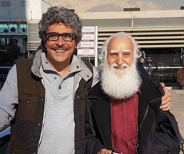 امیرغفارمنش در کنار مرحوم تازه درگذشته+عکس