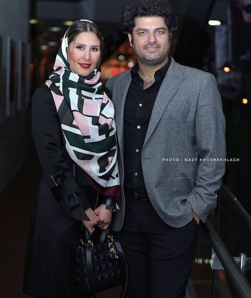 سام درخشانی و همسر ورزشکارش+عکس