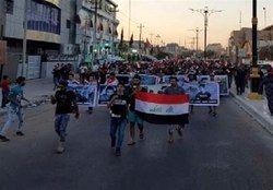 از سرگیری تظاهرات در بصره