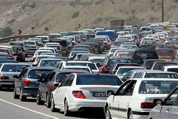 ترافیک روان در محور ایلام-مهران